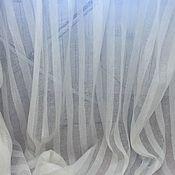 Материалы для творчества handmade. Livemaster - original item Linen Voile for curtains wide.260 cm