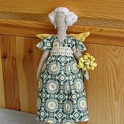 Куклы и игрушки ручной работы. Ярмарка Мастеров - ручная работа Интерьерная кукла-тильда Марта. Handmade.