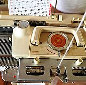 Материалы для творчества ручной работы. Ярмарка Мастеров - ручная работа Silver sk325 5 класс японская вязальная машина. Handmade.