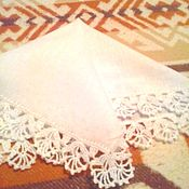 Для дома и интерьера ручной работы. Ярмарка Мастеров - ручная работа Носовой платочек Салфетка. Handmade.
