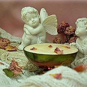 """Косметика ручной работы. Ярмарка Мастеров - ручная работа скраб для лица """"Ангельская нежность""""на крем-мыле с нуля. Handmade."""