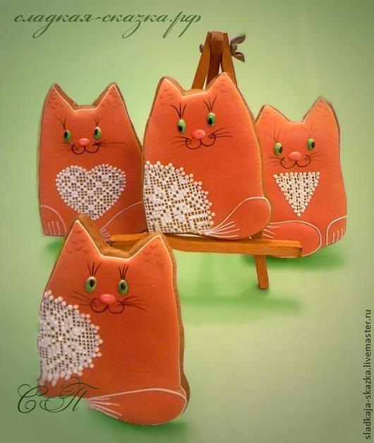 Пряники `Котики`