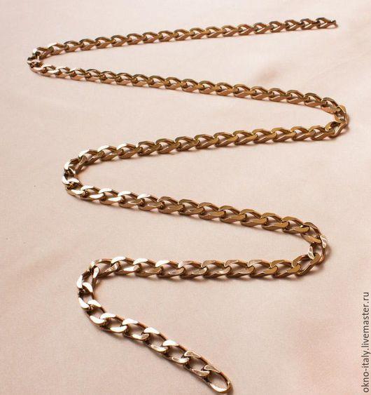 Украшения для сумок ручной работы. Ярмарка Мастеров - ручная работа. Купить Цепь «Versace» 100 см. Handmade. Золотой, для ремня