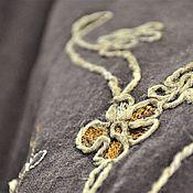 Одежда handmade. Livemaster - original item Linen skirt with printed pattern.. Handmade.
