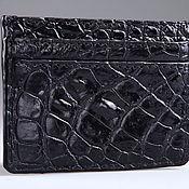 Сумки и аксессуары handmade. Livemaster - original item Cardholders crocodile IMA0135B5. Handmade.