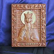 Картины и панно handmade. Livemaster - original item SV.Lyudmila Icon.. Handmade.