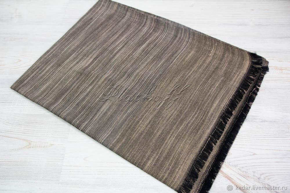 Striped scarf 'Klimento' light brown, Wraps, Moscow,  Фото №1