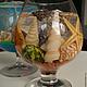 Персональные подарки ручной работы. Ярмарка Мастеров - ручная работа. Купить Гелевая свеча Морские ракушки. Handmade. Море
