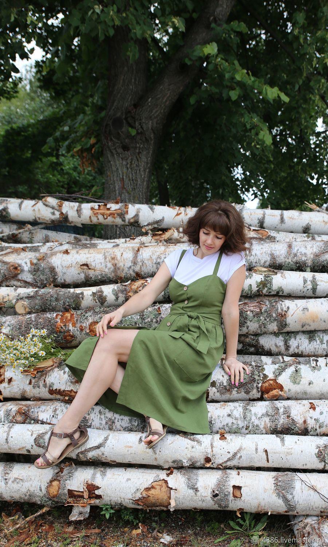 Модный сарафанчик из льна, Сарафаны, Нижневартовск,  Фото №1