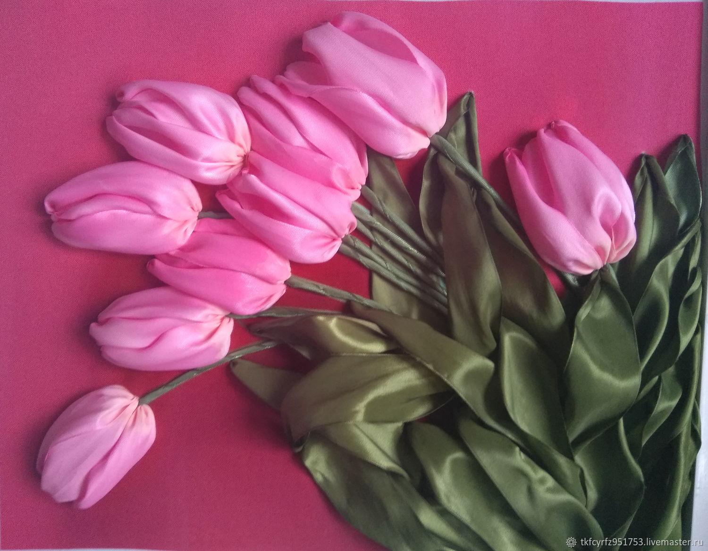 Пояс цветы из фатина