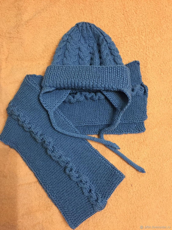 Шапочка и шарфик для малышей, Шапка, Одинцово,  Фото №1