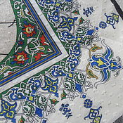 Винтаж handmade. Livemaster - original item Stole pattern, vintage Turkey. Handmade.