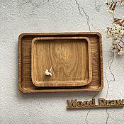 Посуда handmade. Livemaster - original item Set of wooden Plato trays