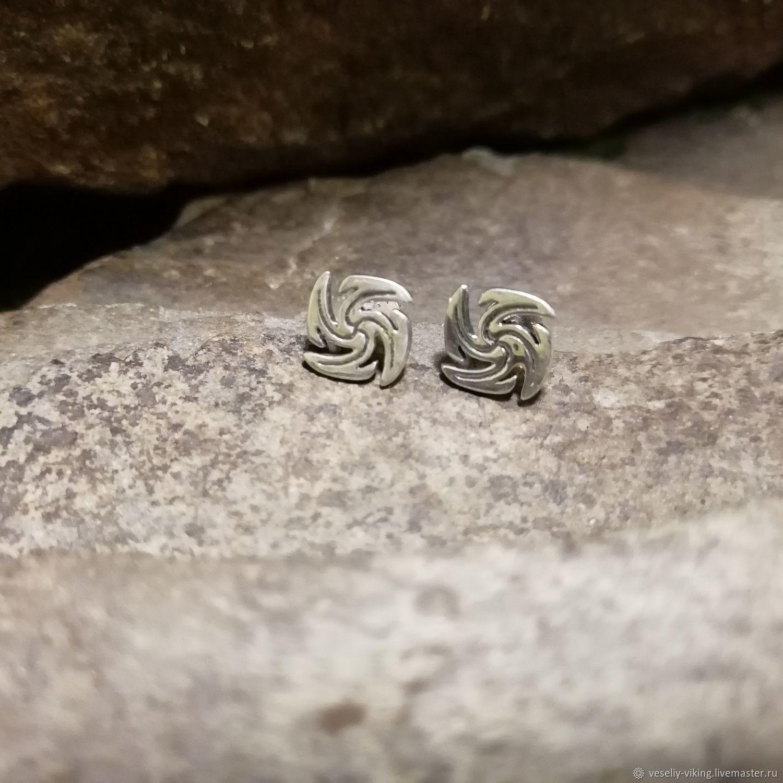 Earrings-ear-stud Snic, Stud earrings, Sochi,  Фото №1