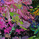 """""""Уголок сада вечером"""" картина маслом на холсте. Картины. ЯРКИЕ КАРТИНЫ Наталии Ширяевой. Интернет-магазин Ярмарка Мастеров.  Фото №2"""