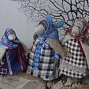 Куклы и игрушки ручной работы. Ярмарка Мастеров - ручная работа Кукла-скрутка Ворона. Handmade.