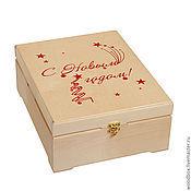 Сувениры и подарки handmade. Livemaster - original item Gift box for New Year.. Handmade.