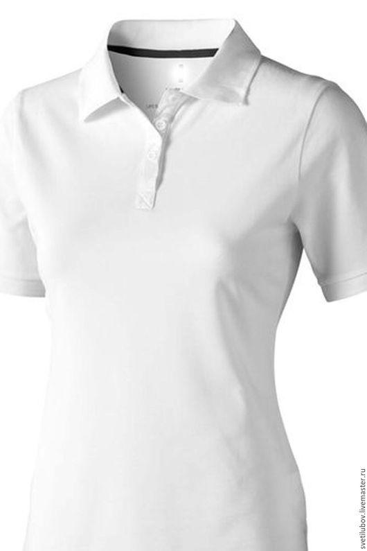 Блузки ручной работы. Ярмарка Мастеров - ручная работа. Купить Рубашка Поло женская. Handmade. Рубашка из хлопка, рубашка