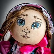 Dolls handmade. Livemaster - original item Manyasha textile doll. Handmade.