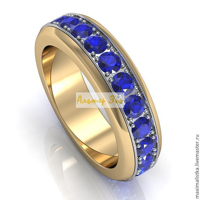 AE 001S Y/W\r\n\r\psina sapphires\r\pbaoe and yellow gold 585*