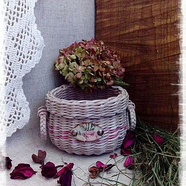 """Для дома и интерьера ручной работы. Ярмарка Мастеров - ручная работа Корзинка """"Прованс"""". Handmade."""