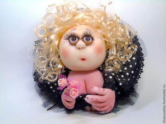 Коллекционные куклы ручной работы. Ярмарка Мастеров - ручная работа. Купить Кукла-попик текстильная. Handmade. Кукла попик