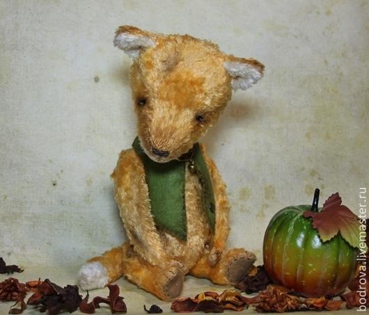 Мишки Тедди ручной работы. Ярмарка Мастеров - ручная работа. Купить Лис Фокс. Handmade. Рыжий, подарок
