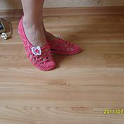 Обувь ручной работы. Ярмарка Мастеров - ручная работа БАЛЕТКИ ИРИНА КОРАЛЛОВЫЙ HANDMADE. Handmade.