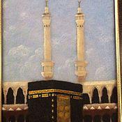 Картины и панно ручной работы. Ярмарка Мастеров - ручная работа Мечеть. Handmade.