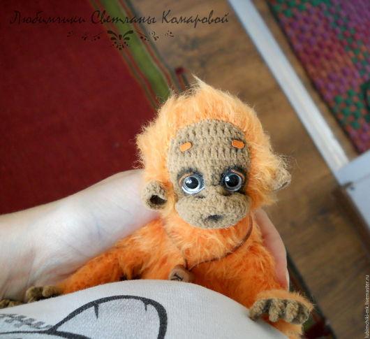 Вязание ручной работы. Ярмарка Мастеров - ручная работа. Купить Кеша орангутанг. Handmade. Комбинированный, техно