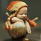 Коллекционные куклы ручной работы. Ярмарка Мастеров - ручная работа. Купить Rita & Mario. Handmade. Улитка