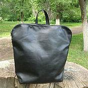 Сумки и аксессуары ручной работы. Ярмарка Мастеров - ручная работа Сумка-рюкзак - трансформер : Все мое всегда со мной...2, черная. Handmade.