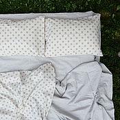 Комплекты постельного белья ручной работы. Ярмарка Мастеров - ручная работа Постельное белье «Принцесса на горошине» лен, комплект постельного бел. Handmade.