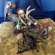 Куклы и игрушки ручной работы. Ярмарка Мастеров - ручная работа Декаданс (Портрет Ли Пейса в роли Трандуила). Handmade.