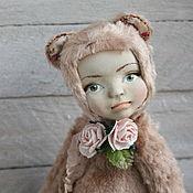 Куклы и игрушки ручной работы. Ярмарка Мастеров - ручная работа Лея. Тедди долл. Handmade.