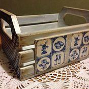 """Для дома и интерьера ручной работы. Ярмарка Мастеров - ручная работа Короб""""Голландия"""". Handmade."""