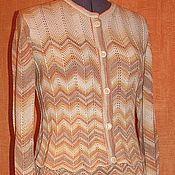 Одежда ручной работы. Ярмарка Мастеров - ручная работа Вязаный костюм из хлопка. Handmade.