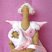 Куклы и игрушки ручной работы. Ярмарка Мастеров - ручная работа Фея с младенцем. Handmade.