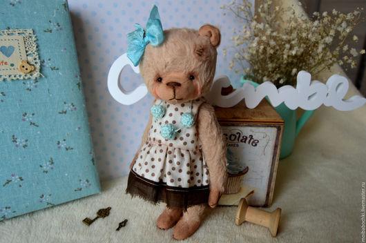 Мишки Тедди ручной работы. Ярмарка Мастеров - ручная работа. Купить Марика. Handmade. Комбинированный, мишка, мишутка, уникальный подарок