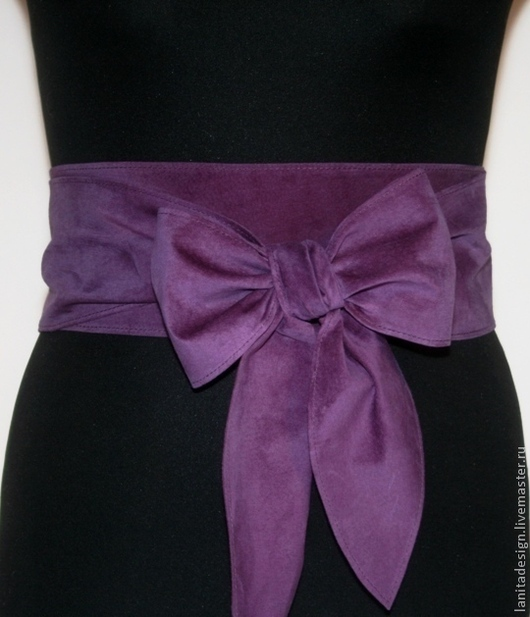 """Пояса, ремни ручной работы. Пояс-кушак """"Violet"""". Lanita Design. Ярмарка Мастеров."""