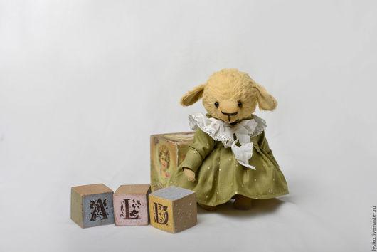 Овечка подарок, добрая овечка,рыжая овечка, игрушка овечка,тедди овечка,друзья тедди