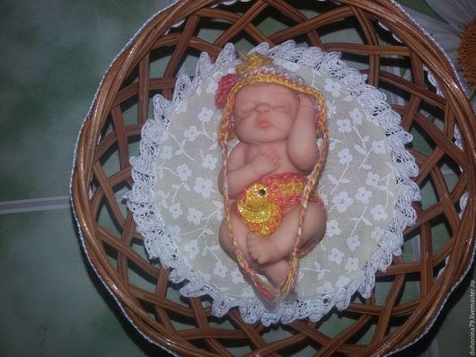 Миниатюра ручной работы. Ярмарка Мастеров - ручная работа. Купить Малышка из полимерной глины. Handmade. Кукла ручной работы, младенец