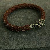 Украшения handmade. Livemaster - original item Bracelet made of genuine leather ,lynx. Handmade.