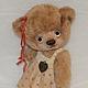 Мишки Тедди ручной работы. Мишка Машенька. Irene Gromi (Teddy Art Boutique). Ярмарка Мастеров. Мишка ручной работы