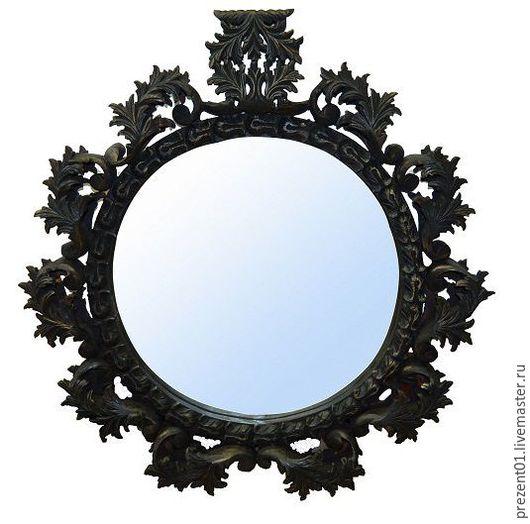 Зеркала ручной работы. Ярмарка Мастеров - ручная работа. Купить Зеркало, арт. 4030. Handmade. Золотой, зеркало настенное