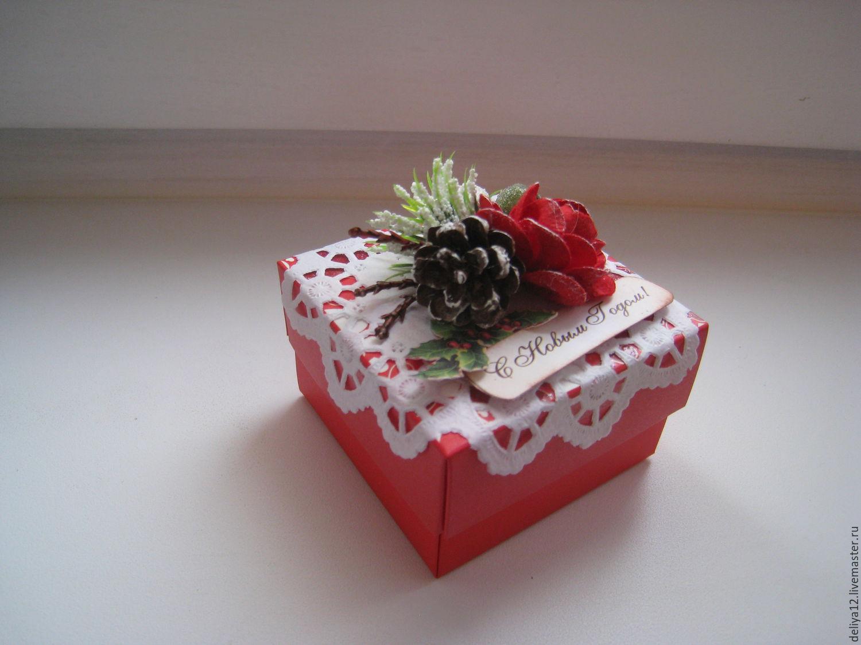 Красивые коробки для подарка