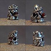 Материалы для творчества handmade. Livemaster - original item Alchemist cat charm. Handmade.