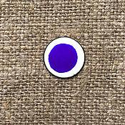 Материалы для творчества handmade. Livemaster - original item Overglaze paint Dulevo No. №685 blue. Handmade.
