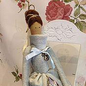 Куклы и игрушки handmade. Livemaster - original item Skating angel with a friend (sold). Handmade.