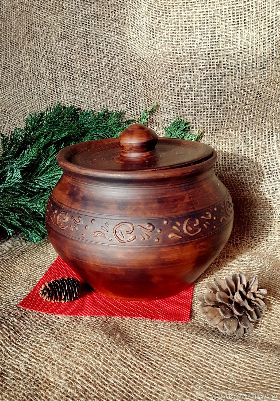 Clay pot for baking, Dishes, Vyborg,  Фото №1